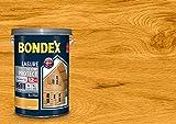 BONDEX - LASURE ULTIM'PROTECT 12 ANS - Peinture Satinée Haute Tenue - Satin - Chêne doré - 5L