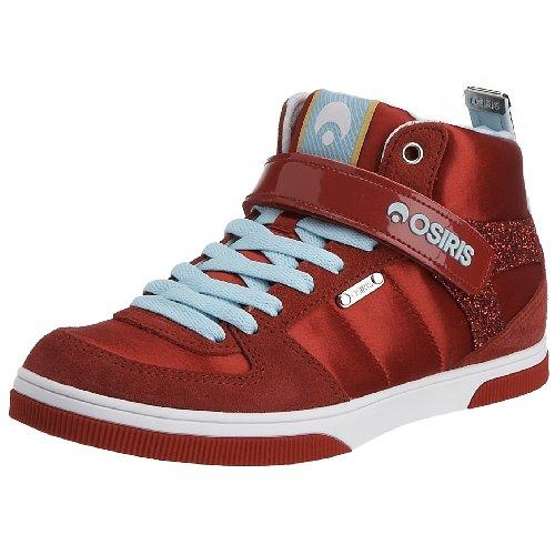 Osiris Women's Uptown Lifestyle Shoe,Red/White,11 M