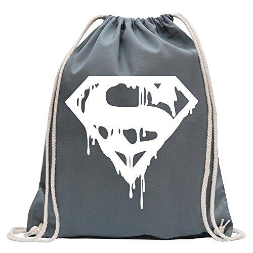 Kiwistar Superman Logo Protector Divertido Mochila Deportivo para Fitness. Gimnasio para el...