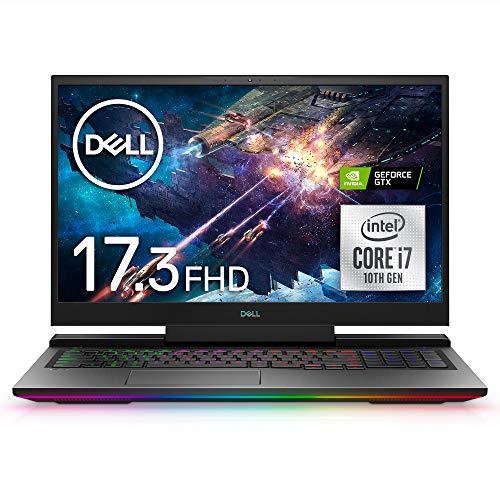 Dell ゲーミングノートパソコン Dell G7 17 7700 ブラック Win10/17.3FHD/Core i7-10750H/16GB/512GB SSD/GTX1660Ti NG787VRA-ANLB