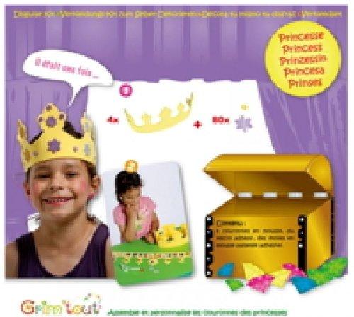 Kit - Princesse - Accessoires de déguisement - Grim'tout