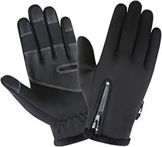 F Fityle Running Gloves with Touch Screen - Winter Glove Liners for Texting, Cycling - Thin & Lightweight Cold Weather The...