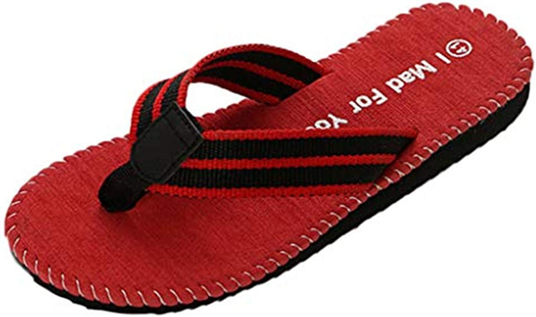 Xinantime Men's Sandals Light Weight Shock Proof Slippers Flip-Flops Summer Beach Breathable shoes