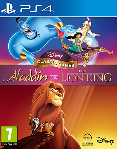 Disney Classic Games - Aladdin and The Lion King pour PS4 [Importación francesa]