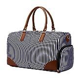Neuleben Reisetasche Weekender Tasche mit Schuhfach Laptopfach Groß Handgepäck Sporttasche