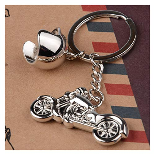 jsobh Keychains Fashion Men Cool Motorcycle Pendant Alloy Keychain Car Key Ring Key Chain Gift Cartoons