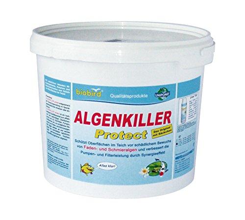 ALGENKILLER Protect® 1,5 kg für 100.000 Liter • Wasserpflege für Garten- und Schwimmteiche
