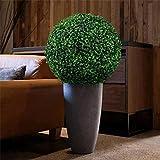 DENGZI Buchsbaum Kunstpflanze Buchsbaumkugel KüNstlich 40 cm Hochwertige Pflanze Topiary Ball dekorative Bälle für Garten Hochzeit & Home Decor (Indoor & Outdoor)