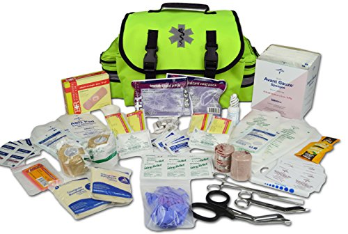 Lightning X Small Medic First Responder EMT Trauma Bag Stocked First Aid Trauma Fill Kit A