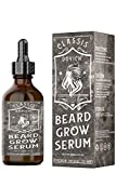 DOVICH Beard Growth Serum With Botanical, Biotin Supplement For Beard Conditioning, Thickening, Mustache & Beard Care, Natural Beard Growth products For Mustache & Beard Boost, Mustache Enhance Oil