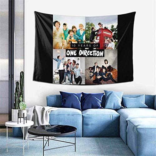 One-Direction Soft Wall Hanging Tapestry Tapestries Home Decor Blanket 60x40 Inch