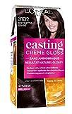 L'Oréal Paris Casting Crème Gloss 3102 Ristretto Givré Châtain Foncé Glacé Collection Cool Brunette