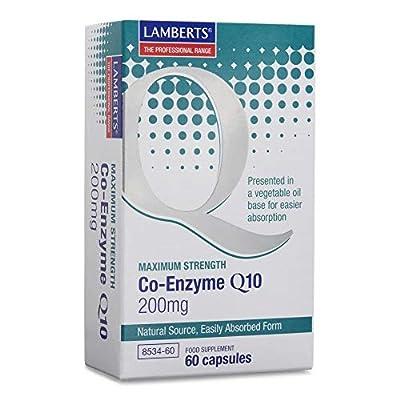 Lamberts Coenzyme Q10 200Mg. 60Cap. by Lamberts