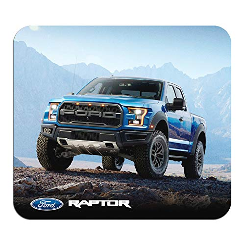 Ford F-150 Raptor Graphic PC Mouse Pad - Custom Designed for Gaming and Office (Top)