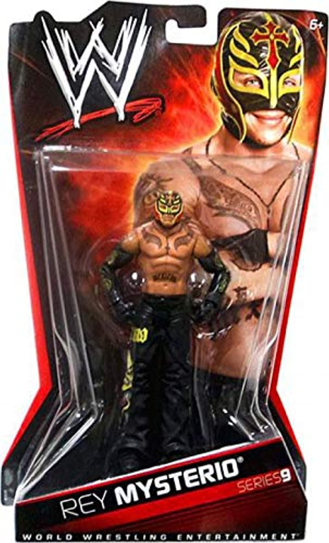 Rey Mysterio Figur - WWE Basis Serie 9