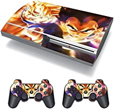 EBTY-Dreams Inc. - Sony Playstation 3 (PS3 FAT) - DBZ Dragon Ball Z Anime Son Goku Vegeta Super Saiyan Vinyl Skin Sticker Decal Protector