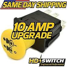 HD Switch PTO Switch Replaces Cub Cadet Zero Turn Rider Series - RZT-L 34 42 46 50 54 - RZTL34, RZTL42, RZTL46, RTZL50, RZTL54, RZTL42KH, RZTL46KH, RZTL50KH, RZTL50KW, RZTL54KW - New Improved Design