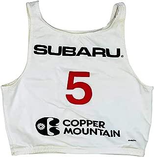 1980's Subaru Copper Mountain Vintage Ski Race Bib #5