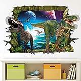 Adhesivos De Pared De Dinosaurio 3D Extraíble,Adhesivo Dinosaurio Vinilos Decorativos,Adhesivo De Dinosaurio Para Niños,Pegatinas De Pared De Dinosaurios,Vinilos Dinosaurios (Color 65)