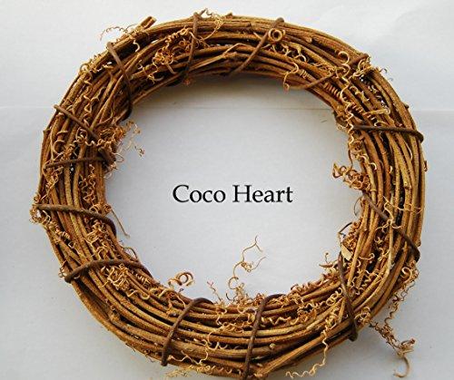 ~Coco Heart~ 藤 リースベース 20cm(リース・ドライフラワー)