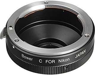Nikon SLR Lens to C-Mount Adapter for Bolex Movie or Closed Circuit TV