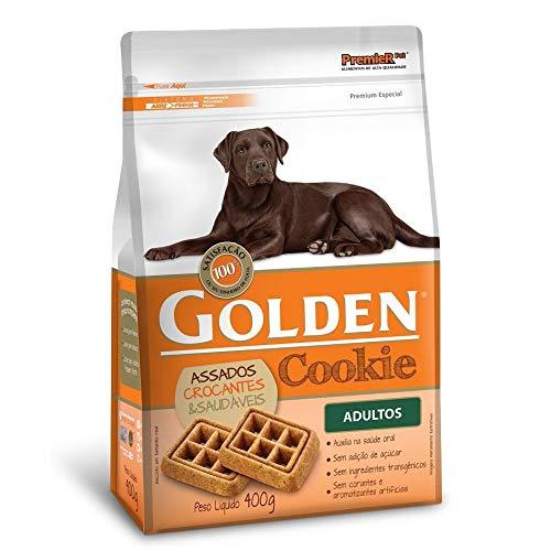 Petisco Golden Cookie Cães Adultos 400g Premier Pet para Todas Todos os tamanhos de raça Adulto - Sabor Sem sabor, Tamanho único