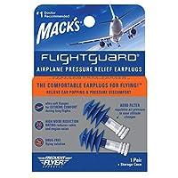 MACK'S マックピロー FLIGHT GUARD 飛行機用耳栓 1ペア入 #17