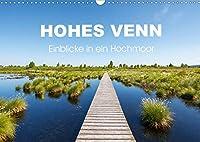 HOHES VENN - Einblicke in ein Hochmoor (Wandkalender 2021 DIN A3 quer): 12 beeindruckende Bilder des groessten Hochmoors Europas im Jahresverlauf (Monatskalender, 14 Seiten )