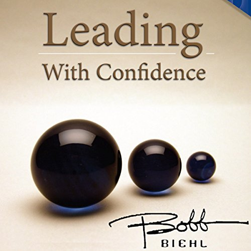 Leading with Confidence audiobook cover art
