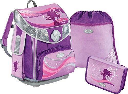 Sammies by Samsonite Premium plus Schulranzen-Set 3-tlg. Stardust Fairy