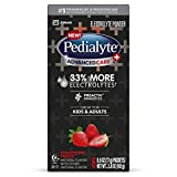 Pedialyte AdvancedCare Plus Electrolyte Powder, with 33% More Electrolytes and PreActiv Prebiotics, Strawberry Freeze, Electrolyte Drink Powder Packets, 0.6 Oz, Pack of 6