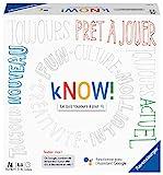 Ravensburger- kNOW! - Jeu de société - Jeu de quiz à jouer entre amis ou en famille - 27253 - Version française - de 3 à 6 joueurs - dès 10 ans