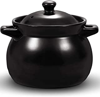 GMING Clay Pot Casserole Cookware Ceramic Cookware,High Temperature Firing, Energy Saving And Environmental Protection, Mo...