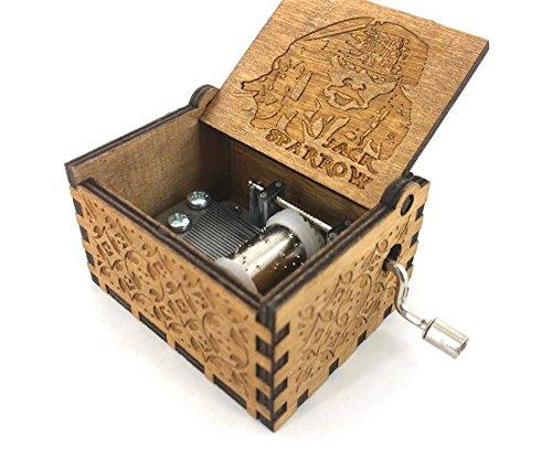 Cuzit – Holzspieluhr, Jack Sparrow aus Fluch der Karibik spielt die Melodie von Davy Jones