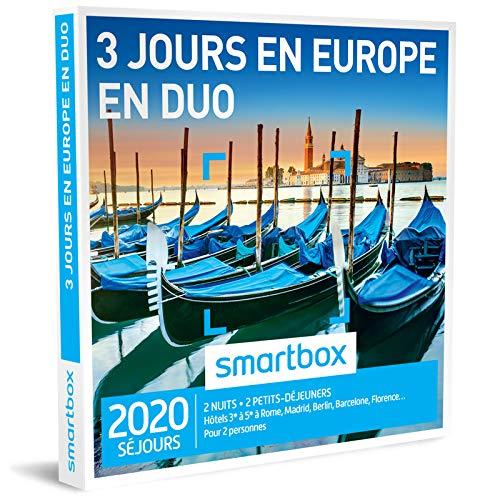Coffret Smartbox 3 jours en Europe en duo