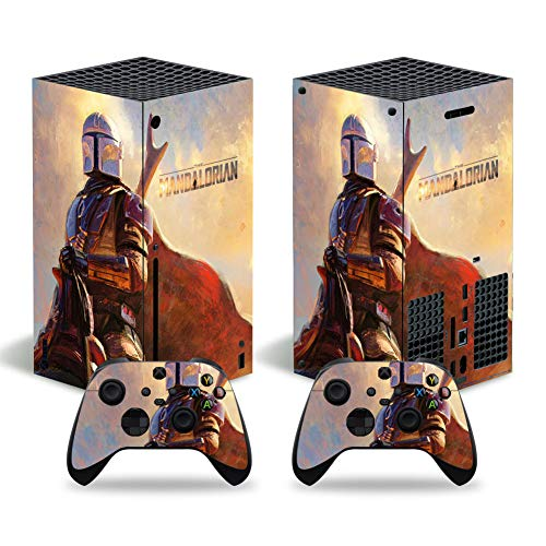 The Mandalorian Skin Sticker for Xbox Series X Console and Controllers...