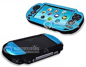 Szjay ® Metal Aluminum Metallic Protection Hard Case Cover for Playstation Ps Vita 1000 (Sky Blue)