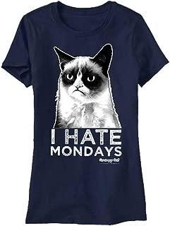 T-Line Juniors Grumpy Cat I Hate Mondays Graphic Tee