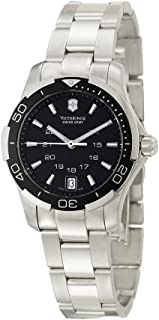 Victorinox Swiss Army Women's 241305 Alliance Sport Lady Black Dial Watch