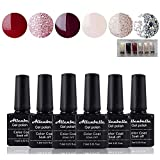Allenbelle Smalto Semipermanente Smalti Semipermanenti Per Unghie Nail Polish UV LED Gel U...