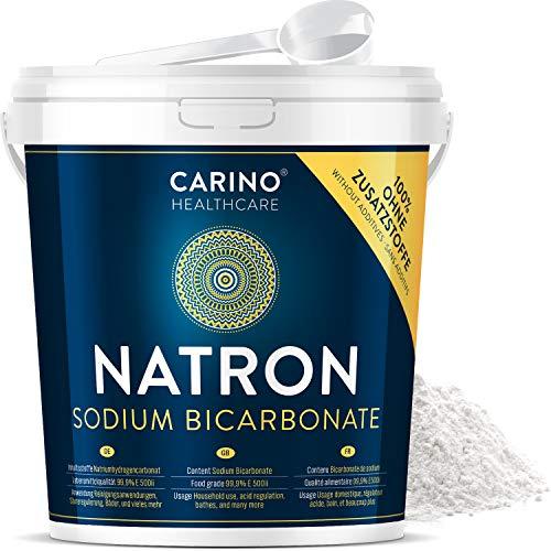 Natron Pulver in Lebensmittelqualität 4.5kg im lebensmittelzertifizierten Eimer mit Originalitätsverschluss
