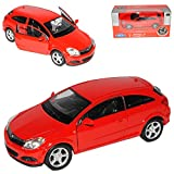 Opel Astra Gtc 2007 Coupe Rot Rojo Ca 1/43 1/36-1/46 Welly Modellauto Modelell Auto