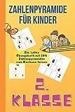 Zahlenpyramide für Kinder 2. Klasse: Mathe Übungen für Kinder zum rechnen lernen aus der 2. Klasse