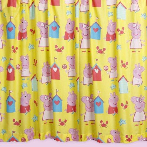 cortinas infantiles pepa pig