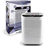 LEICKE Pure O² Purificador de aire con lámpara UV,tecnología de flujo de aire doble,contra alérgenos, olores, para purificar el aire de la habitación
