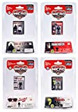 Worlds Smallest Mego Horror Micro Action Figures – (Bundle of 4)