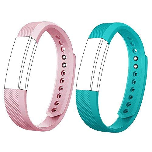 AndThere Ersatz-Armband, Uhrenarmband, einstellbares Armband für ID115HR oder ID115 Fitness Tracker Uhr