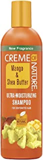 Creme of Nature Mango & Shea Butter Ultra Moisturizing Shampoo, 12 Ounce