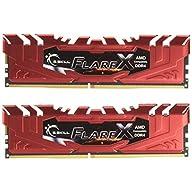 G.SKILL 16GB (2 x 8GB) Flare X Series DDR4 PC4-19200 2400MHz Memory Desktop Memory Model F4-2400C16D-16GFXR
