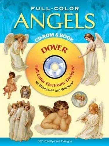 Compare Textbook Prices for Full-Color Angels CD-ROM and Book Dover Electronic Clip Art  ISBN 9780486995250 by Dover